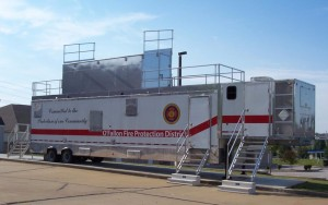Burn Trailer for O'Fallon Fire Protection District