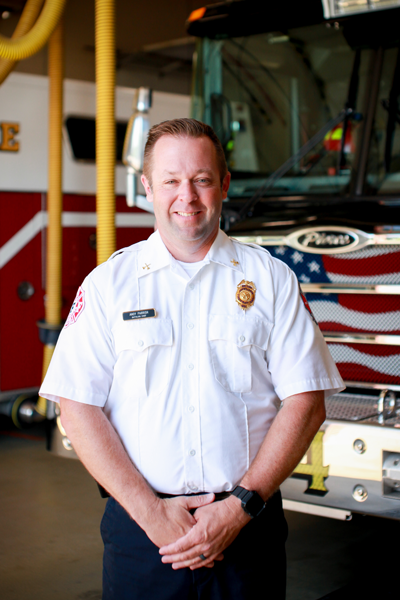 Battalion Chief Andy Parrish