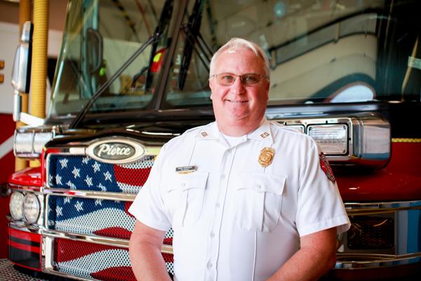 Fire Marshal Mark Morrison