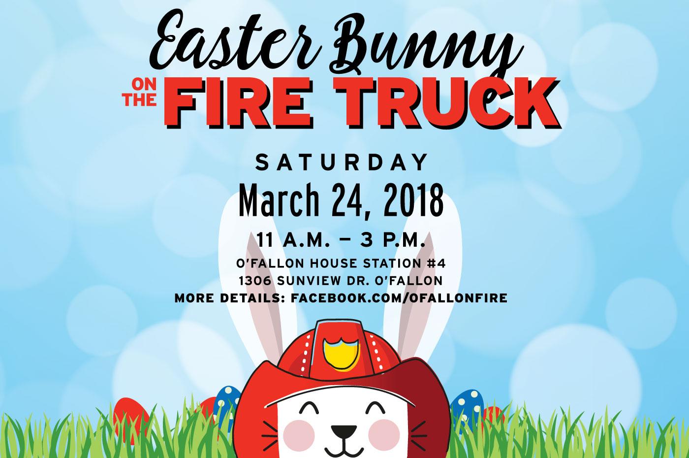 O'Fallon Easter Bunny Event 2018