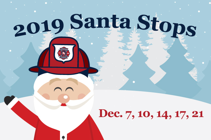 2019 Santa Stops