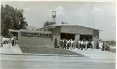 Original O'Fallon Fire Protection District Station #1