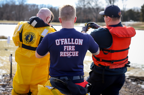 OFPD Ice Rescue Training 1
